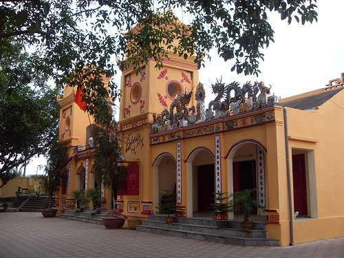 Ky Cung Temple in Lang Son worships God of River