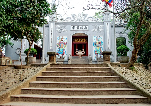 Temple of Kings Hung in Phong Chau-Phu Tho- Vietnam