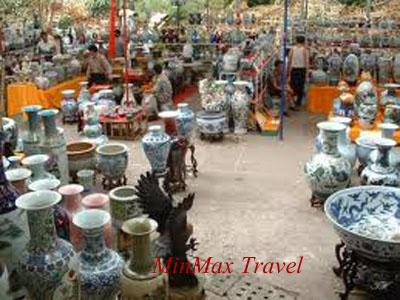 Bat Trang – an old pottery village