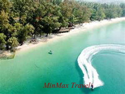 Beach in Sihanoukvilla