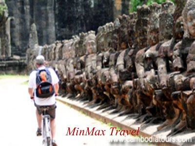 Cycle to Siem Reap