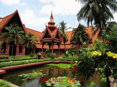 National Museum of Phnom Penh in Cambodia