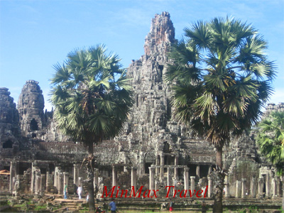 Angkor Thom in Siem Reap