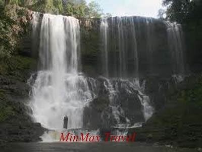 Bousra Waterfall in Mondulkiri