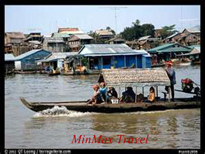 Tonle Sap Lake in Siem Reap