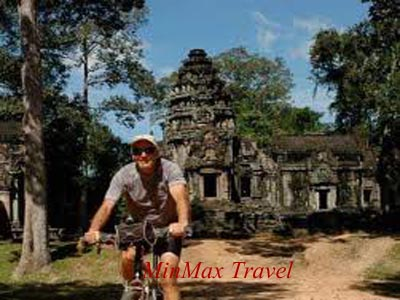 Cycle to visit Angkor