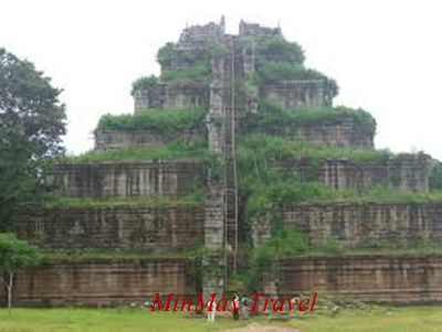 Koh Ker Temple Complex in Siem Reap