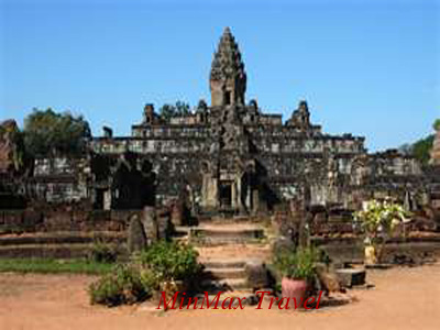 Bakong Temple (belong to Ruos Group of Temple) in Siem Reap