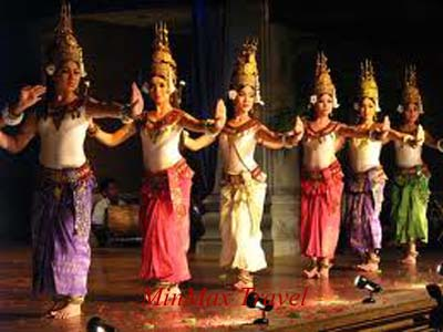 Apsara - Traditional Dance in Cambodia