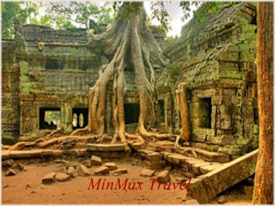 Ta Prohm Temple in Phnom Penh