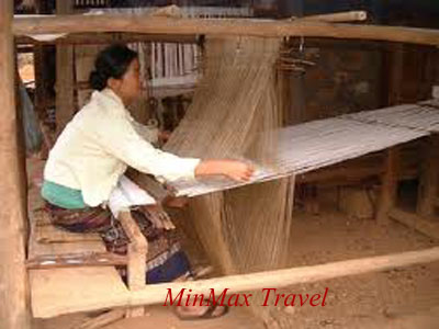 Traditional methods used making Lao products